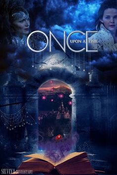 #OnceUponATime | Even though this poster is mostly made out of pictures, the design is still really good and it portrays what the first season of the show is.