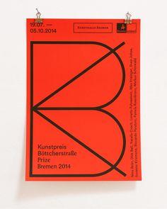 kroenker:  Kunstpreis Böttcherstraße 2014Exhibition poster