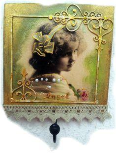 Angel Decoupage Art