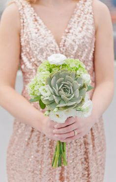 Last year, Pantone named Grayed Jade one of the leaders in fashion trends and I for one am not over it and this wedding inspi...