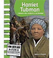 Primary Source Readers: Biografias de estado unidenses: Harriet Tubman (Spanish Version) cover