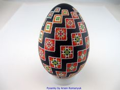 Real Ukrainian Pysanka (goose egg shell) Pysanky. Hand made. Pisanki in Collectibles, Decorative Collectibles, Eggs | eBay