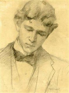 JOHN SINGER SARGENT Charcoal on paper