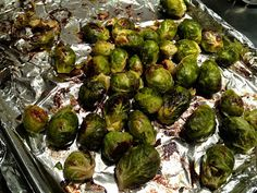 Roasting frozen vegetables? If this works, it may be life changing! Roasted asparagus and brussels sprouts all year long!