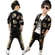 Skull Print Style Jacket