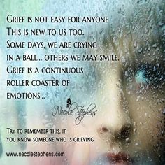 This grief is new to me, and so very hard to grasp and deal with. If you think it's hard for you to HEAR, be grateful your ears are your only experience with such pain. Missing My Son, Losing A Loved One, I Miss You Dad, Grieving Quotes, Grief Loss, Try To Remember, Lost Love, It Hurts, I Am Awesome