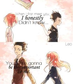 Anime:Koe no katachi Anime quote