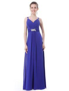 Ever Pretty Women's Padded Gorgeous V-Neck Diamante Long Evening Dress, Blue, 14 Ever-Pretty http://www.amazon.com/dp/B00C1SXM3Q/ref=cm_sw_r_pi_dp_yFS8ub0VG60WA