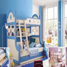 Bunk bed Blue 3333