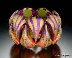 Elise Winters - polymer clay bracelet