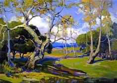 Franz Bischoff , A California Woodland