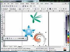 How to use Interactive Distortion Tool,Tutorial Corel Draw, Tips and Trick, Mastering Corel Draw - YouTube