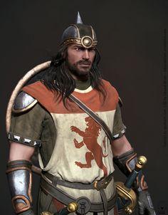 Medieval Warrior, Eduard Oliver on ArtStation at https://www.artstation.com/artwork/m36Je