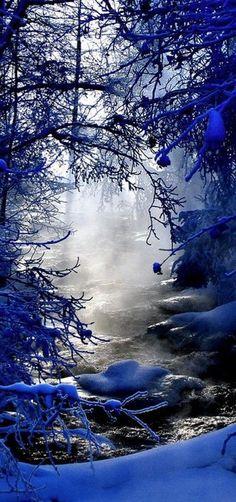 Finlandiya'dan Güzel Kış Manzaraları