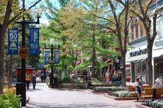 Downtown Boulder Colorado