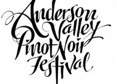 17th Annual Anderson Valley Pinot Noir Festival!! Great event.  http://enobytes.com/2014/04/09/17th-annual-anderson-valley-pinot-noir-festival/