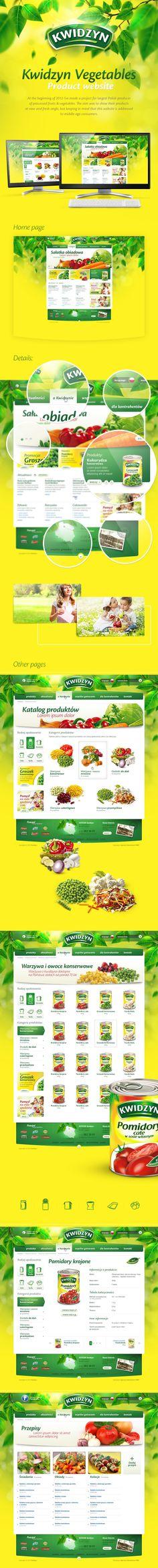 Warzywa Kwidzyn by Peronczyk.com & WMC Agency via Behance