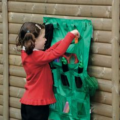 Handy, portable storage designed to support learning activities outside or where…