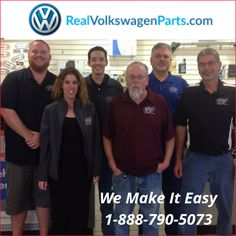The http://REALVolkswagenParts.com  Team makes buying OEM #VW #parts & Genuine #Volkswagen Accessories as easy as possible.