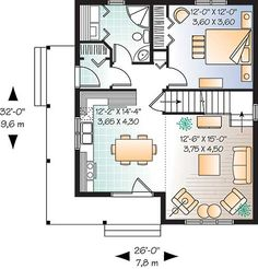 700 to 800 sq ft house plans 700 square feet 2 bedrooms 1