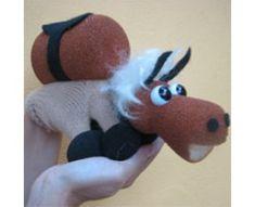 T/íteres de Guante Largo The Puppet Company Caballo