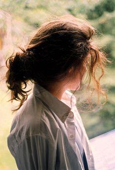Summer - Messy hair Look.