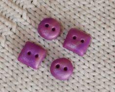 Como hacer botones de arcilla