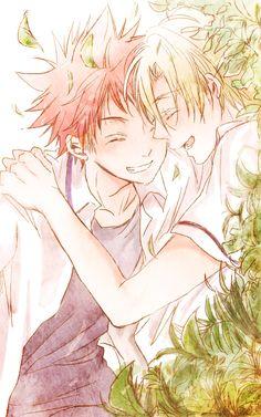 Souma x Takumi   Anime-Manga: Shokugeki no Soma  Artist: http://www.pixiv.net/member.php?id=2620426