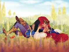 Here's What It Would Look Like If Your Favourite Disney Characters Were In Same-Sex Relationships