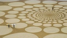 Land Art de Jim Denevan