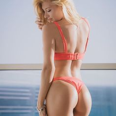 Blonde with great ass