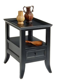 Gothic Cabinet Craft - Mykonos Drawer Side Table, $259.00 (http://www.gothiccabinetcraft.com/mykonos-drawer-side-table/)