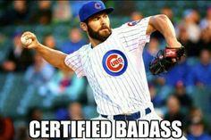 Certified Badass-- Jake Arrieta.