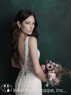 Wedding Dress by Allure Couture - Search our photo gallery for pictures of wedding dresses by Allure Couture. Find the perfect dress with recent Allure Couture photos. Bridal Gown Styles, Wedding Styles, Bridal Gowns, Wedding Ideas, Elegant Wedding Dress, Wedding Dresses, Allure Couture, Wedding Dress Pictures, Dress Out