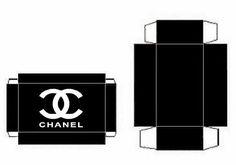 Cajitas de Chanel para Imprimir Gratis.