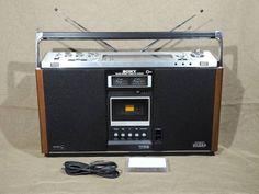 使える高級ステレオラジカセ SONY CF-6600 アンティーク貴重 - ヤフオク!