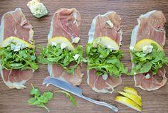Prosciutto Arugula Salad - SheEats.ca