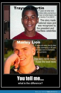 Since many may not have said this R.I.P Marley Lion my prayers are with your family.  R.I.P Trayvon Martin my prayers are with your family as well.