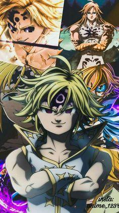 nanatsu no taizai Anime Meliodas, Meliodas Vs, Seven Deadly Sins Anime, 7 Deadly Sins, Otaku Anime, Manga Anime, Demon King Anime, Meliodas And Elizabeth, Seven Deady Sins