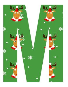 Alfabeto Natal - Rena Christmas Time, Merry Christmas, Christmas Alphabet, Alphabet And Numbers, Lettering Design, Pretty Pictures, Banners, Coloring Pages, December