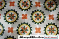 Com - Athangudi Tiles - Tile Designs Indian Crafts, Indian Home Decor, Room Wall Tiles, Tile Patterns, Tile Design, Diy Painting, Invitations, Invite, Wood Crafts