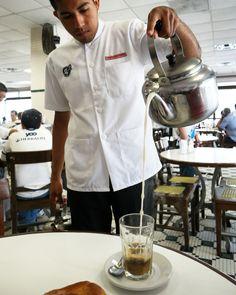 Café Tradicional La Parroquia en #Veracruz #café #coffee