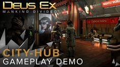 Get your first glimpse at the city-hub of Prague in Deus Ex: Mankind Divided, an expansive and dense location which will allow players to meet a variety of c...