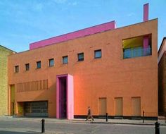 Legorreta + Legorreta  Fashion and Textile Museum  London, UK  	  	      	  Legorreta uses color to reinvent and dramatize the former warehouse building.