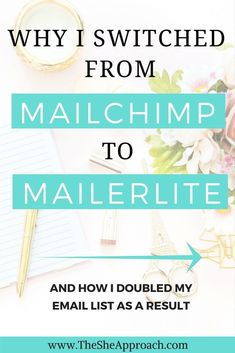 Why I switched from Mailchimp to Mailerlite