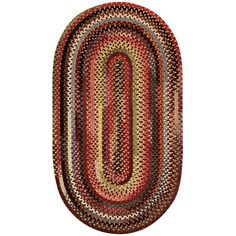 "Loon Peak Kaweah Red Outdoor Area Rug Rug Size: Concentric Runner 2'3"" x 9'"
