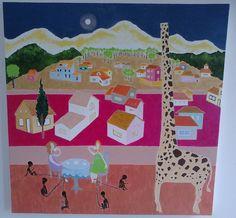 Girafa no Céu. Marcelo Guimarães.