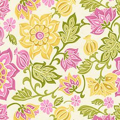 Spa Pom Pon Play Fabric by the Yard | Carousel Designs