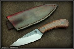 Ben tendick belt knife.