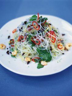 Asian Noodle Salad | Beef Recipes | Jamie Oliver Recipes